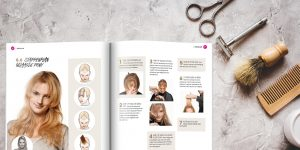 lesboek hair level voor kappersopleiding